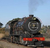 Train ride to magaliesburg self catering