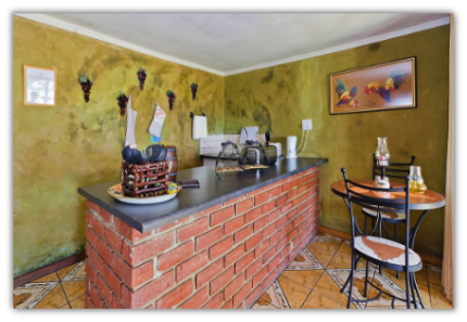 Tuscan kitchen at magaliesburg